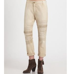 Current/Elliott Buddy Trouser Safari With Lace 29